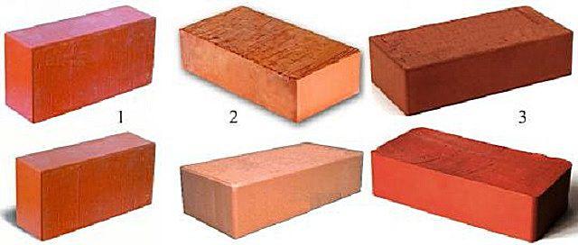 Разделение обожженного керамического кирпича по сортам