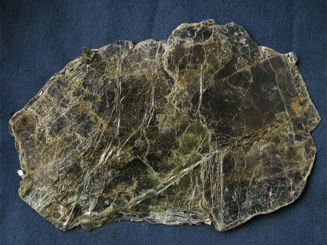 Фрагмент гидрослюды - сырья для производства вспученного вермикулита
