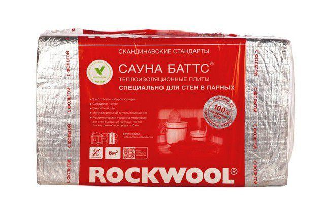 Совершенно особый тип утеплительных плит - ROCKWOOL САУНА БАТТС