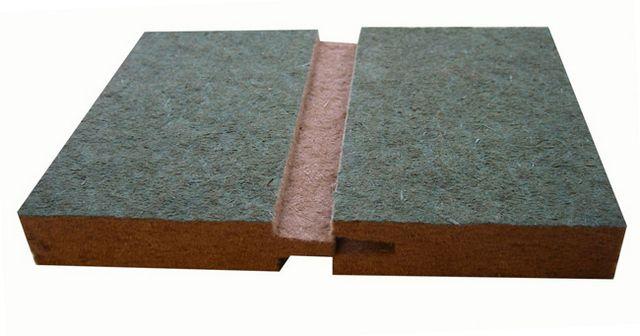 Пазо-гребневое соединение панелей «Isoplaat Windprotection»