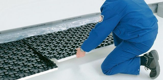 Маты с пленочным покрытием способны создать сплошную гидроизоляционную поверхность
