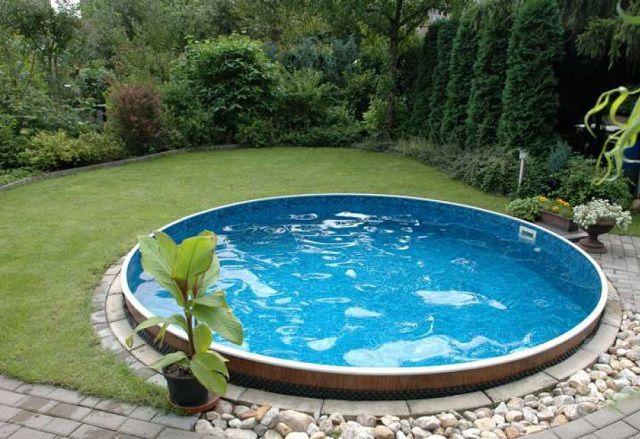 Дети будут в восторге от небольшого бассейна