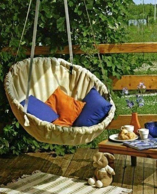 Для изготовления такого кресла потребуются только навыки шитья
