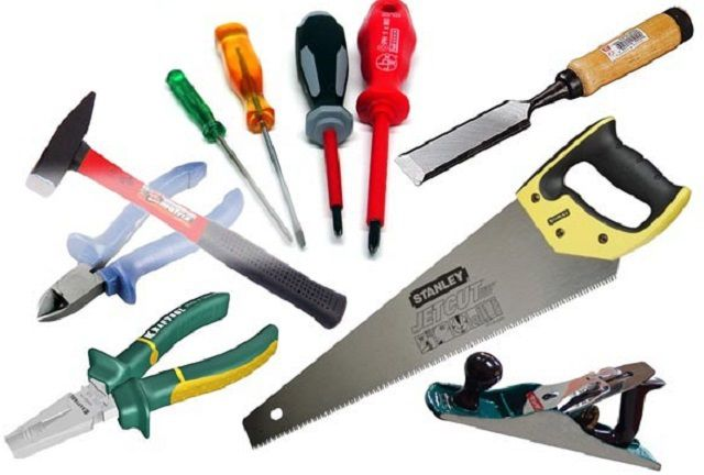 Для работы необходимо подготовить качественный инструмент