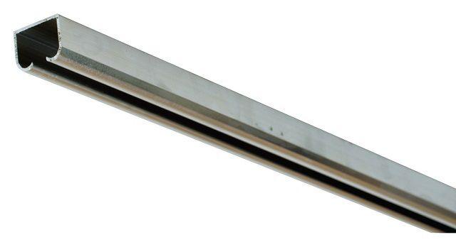 Верхняя направляющая - металлический профиль. К нему необходим брус такой же длины