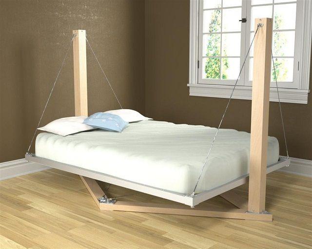 кровать своими руками фото