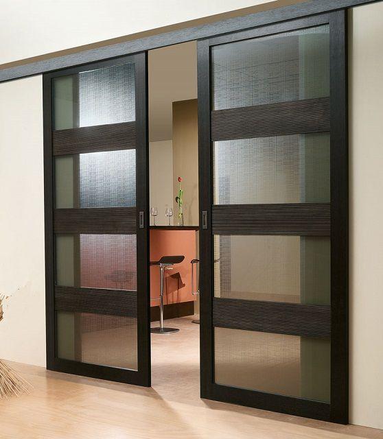 Раздвижные двери подвесной конструкции