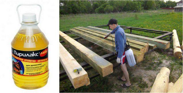 Все деревянные детали должны пройти тщательную подготовку