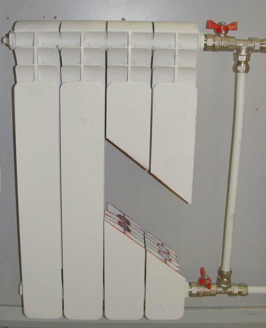 Высокой теплоотдачей обладают двухканальные радиаторы отопления