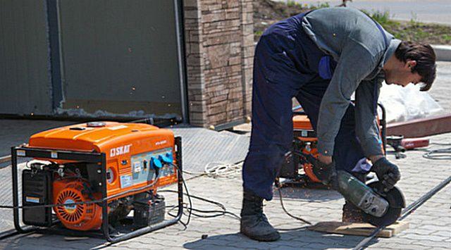 Часто мини-электростанция становится незаменимой при ведении строительства