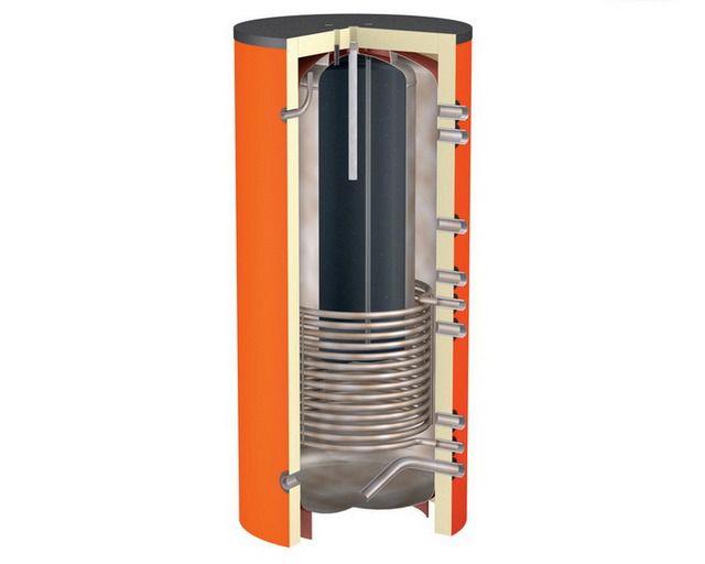 Теплоаккумулятор со встроенным баком горячего водоснабжения