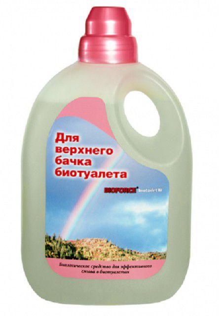 В состав раствора для верхней емкости обычно включается ароматизатор