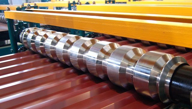 Прокатывание металлического листа с защитным полимерным покрытием