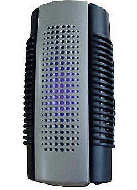 Очиститель-ионизатор колонной компоновки