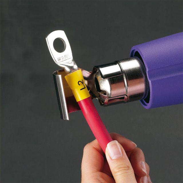 Один из лучших способов маркировки любых кабелей - эту термоусаживаемые трубки