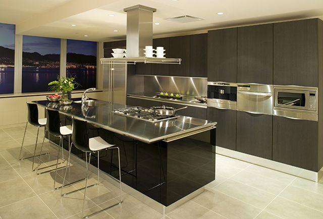 """Пример """"острова"""" на современной кухне"""