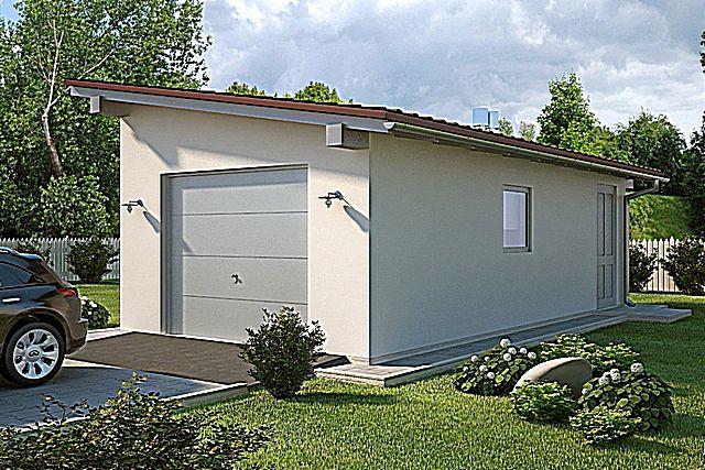 Односкатная крыша для гаража своими руками