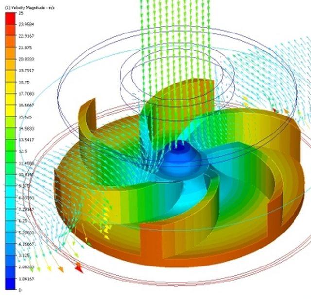 Принципиальная схема работы центробежной насосной камеры