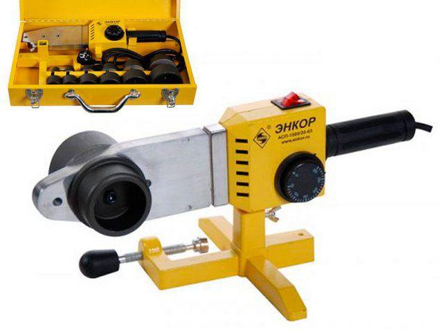 Такой аппарат при необходимости можно надёжно зафиксировать на верстаке.