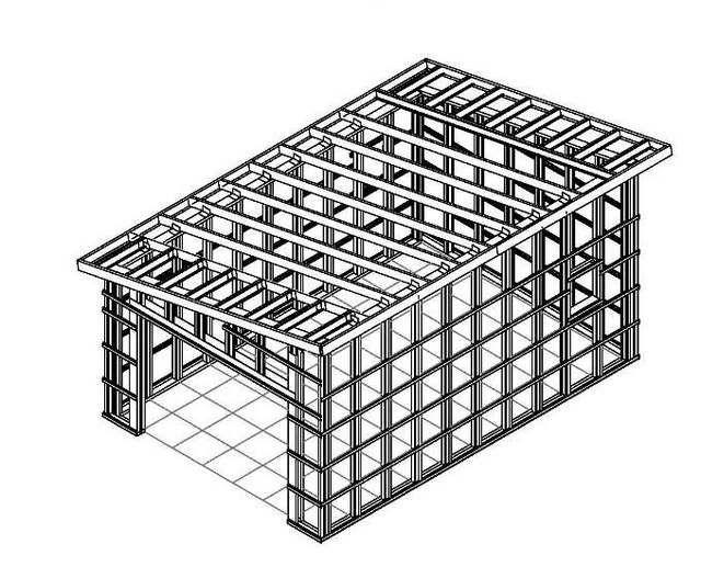 Односкатная крыша – это несложная конструкция для расчетов и самостоятельного возведения