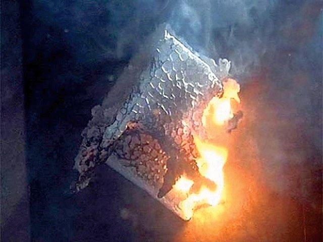 Пенополистирол не только способен гореть, но и выделяет при этом чрезвычайно опасные токсичные вещества