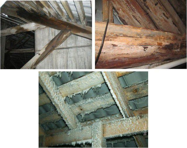 Отсутствие термоизоляции способно существенно сократить срок службы всей конструкции крыши