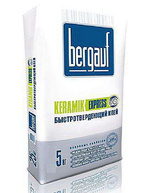 Плиточный клей «Bergauf Keramik Express»