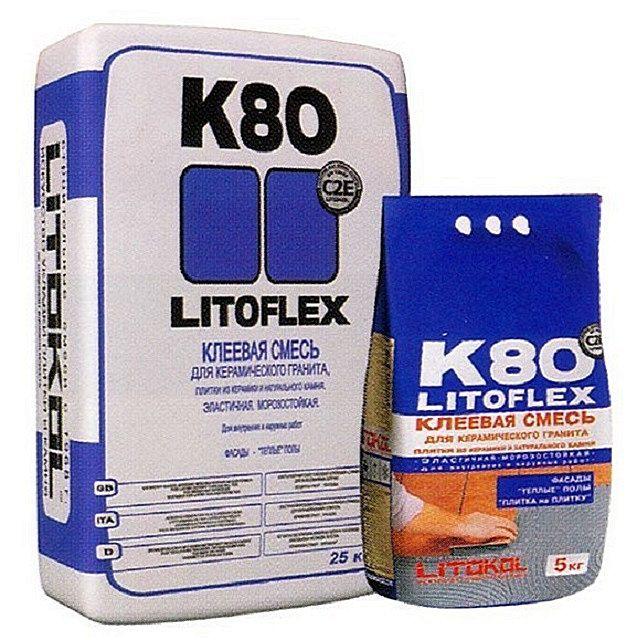 Клеевой состав «Litоflex К80»