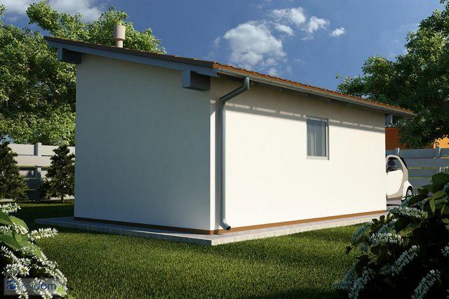 В подавляющем большинстве случаев односкатная крыша не предполагает наличия «полезного» чердачного помещения