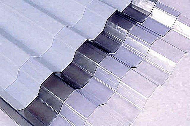 Профилированные листы поликарбоната «Suntuf»