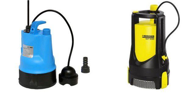 Дренажные насосы с сенсорными датчиками уровня воды