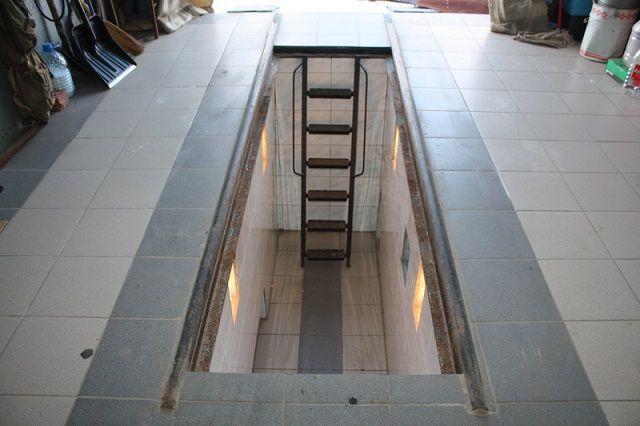 Металлическая смотровая яма в гараже гараж купить в брагино