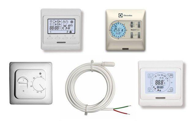 Несмотря на разницу в сложности своего устройства, практически все термостатические блоки управления рассчитаны на установку в стандартное розеточное гнездо