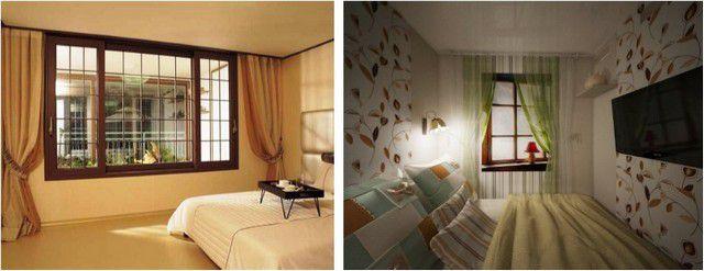 Согласитесь, что к таким разным окнам и подход при расчете обоев также должен различаться