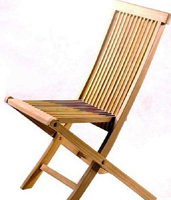 Складные стулья универсальны – подойдут и для постоянного места проживания, и для выездов на природу.