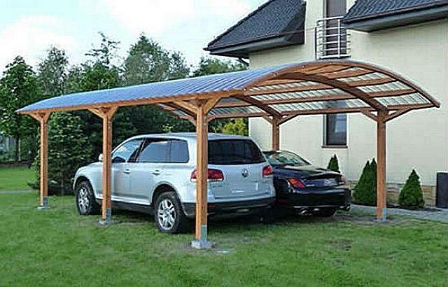 Отличное решение для защиты автомобильной стоянки от палящего солнца