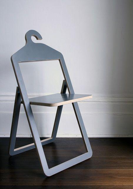 Складной стул из фанеры