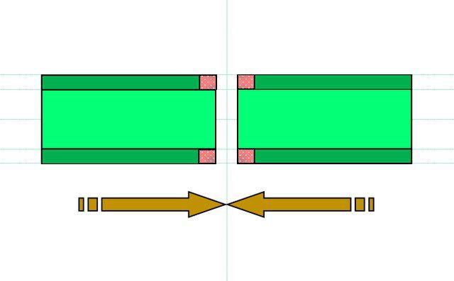 Принцип стыковой сварки ПП-труб, схема №4