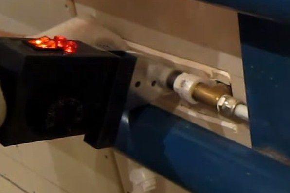 … и вваривание готового узла по месту его установки