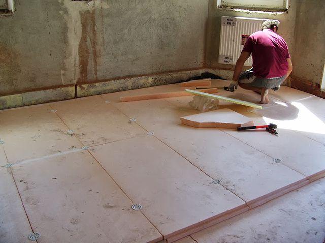 Крепление двух слоев утеплителя из плит ЭППС тарельчатыми дюбелями