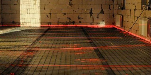 Лазерный уровень - незаменимый помощник при разметке и установке маяков