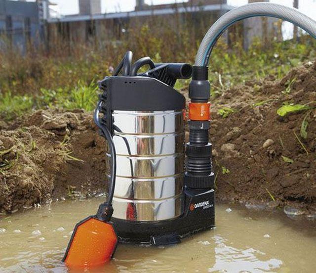 Функциональность насосов для грязной воды – уже значительно выше