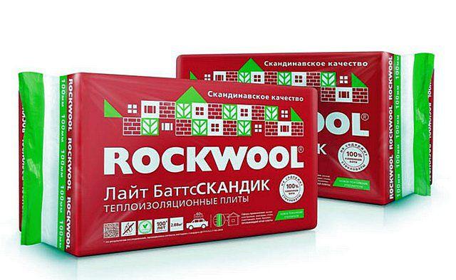 «ROCKWOOL ЛАЙТ БАТТС СКАНДИК» — универсальные плиты, которые как нельзя лучше подойдут для утепления частного дома