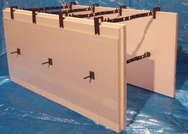 Один из вариантов изготовления несъёмной опалубки из листов ЭППС