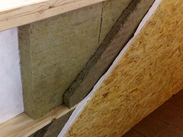Отличное решение для утепления стен на даче – плиты базальтовой ваты
