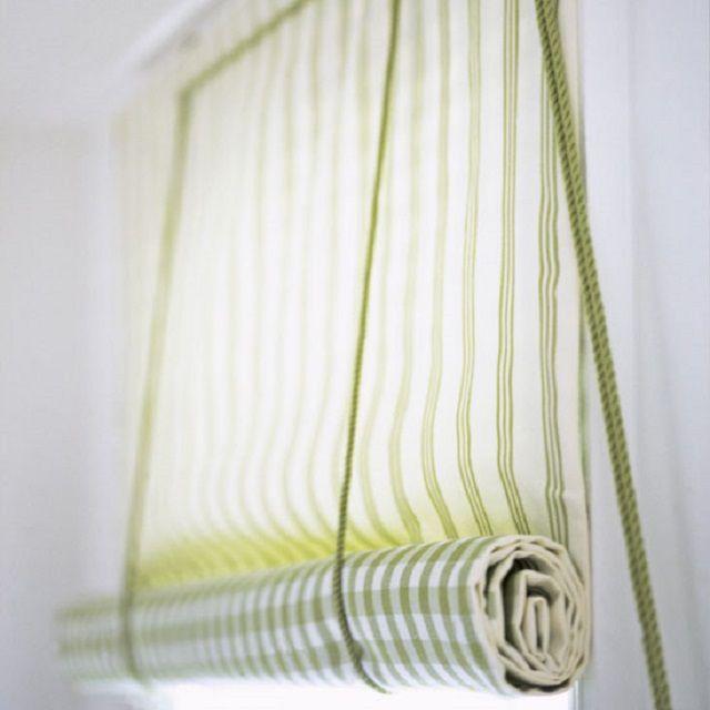 Рулонные шторы из обычных тканей – не совсем удобны в эксплуатации