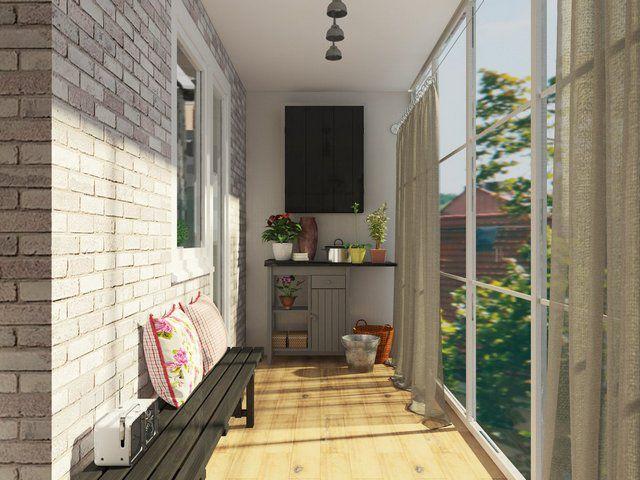 Смягченный «лофт», больше приближенный к уюту жилого помещения
