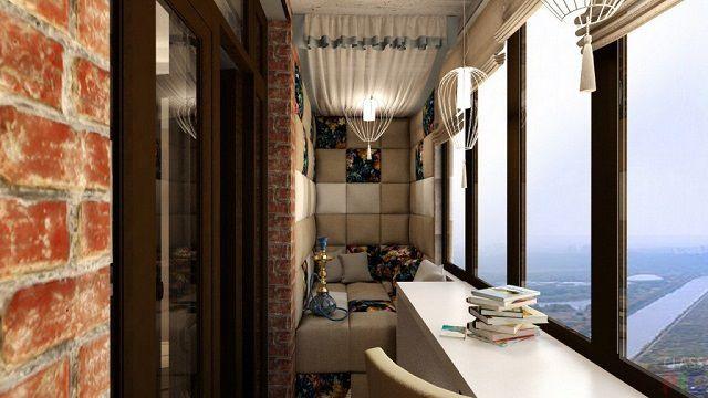 Вполне себе «лофтовское» помещение, правда, с несколько выделяющейся на общем фоне зоной отдыха