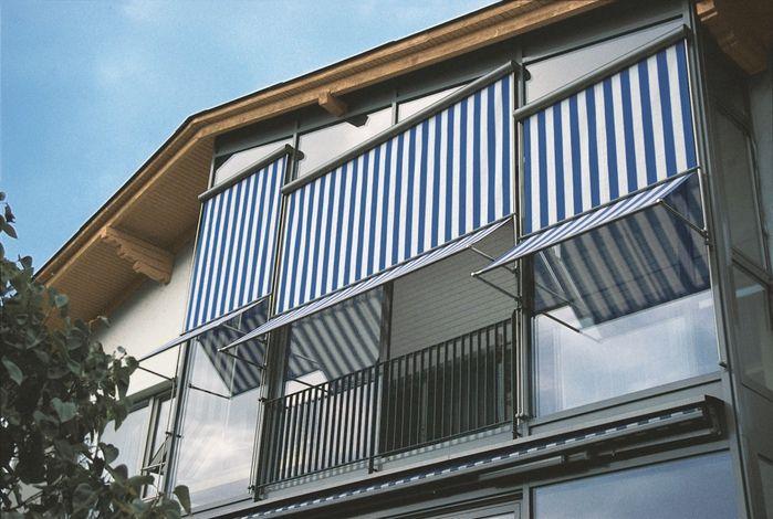 Комбинированная модель, сочетающая достоинства рулонных штор и маркизов