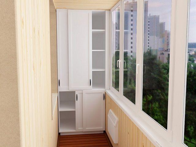 Для сооружения такого аккуратного шкафчика подойдут и натуральное дерево, и пластиковые панели